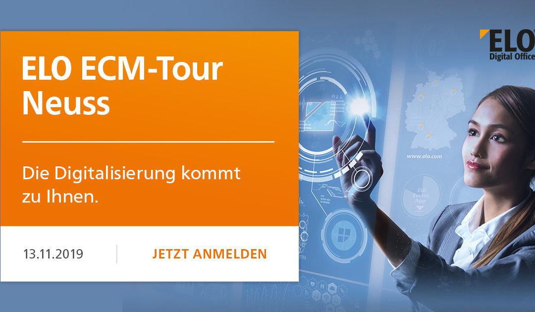 ELO ECM-Tour in Neuss