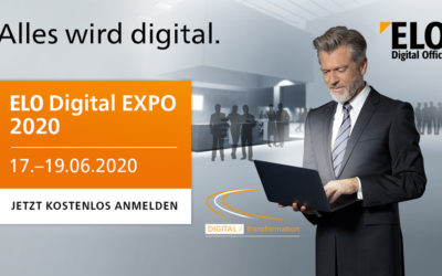 ELO Digital EXPO 2020 – die virtuelle Messe