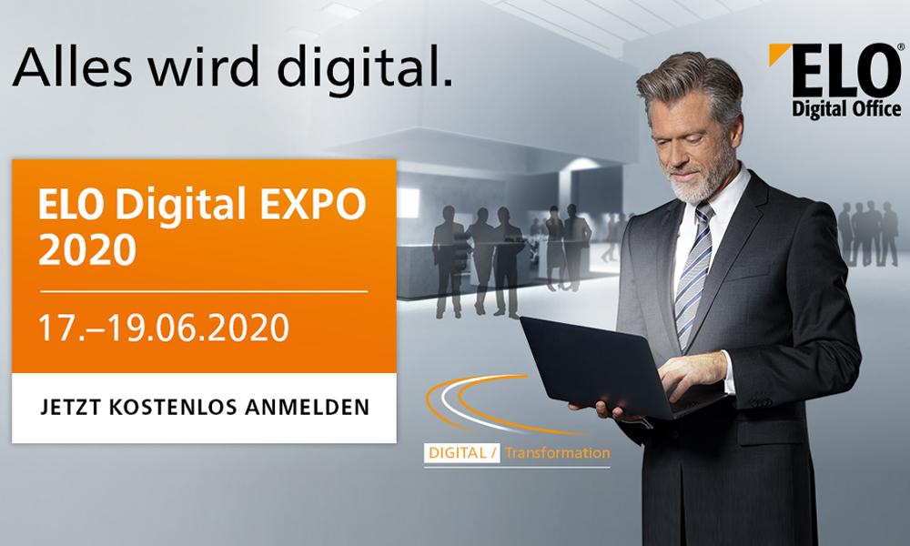 ELO Digital EXPO 2020 – die virtuelle Messe
